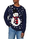 NIZZIN Unisexo Maples, suéter Hombre, Azul (Blue), Large