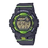 Casio G-SHOCK Reloj Digital, Contador de pasos, Sensor de movimiento, Aplicación de deporte gratuita para descargar, 20 BAR, Blanco, para Hombre, GBD-800-8ER