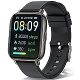 Sudugo Smartwatch, 1.69' Táctil Completa Reloj Inteligente Hombre Mujer con Monitor de Sueño, Pulsómetro, Cronómetro, Podómetro Impermeable IP67 Pulsera Actividad Inteligente para Android iOS
