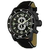 Invicta Corduba Collection Diver Reloj cronógrafo para Hombre 4907 con Correa Negra Techno