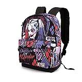 Karactermania Harley Quinn Crazy - Mochila HS 1.2, Multicolor, Un Tamaño