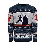 Numskull Darth Vader Suéter, Unisex adulto, talla EU XL (talla L US Canada)