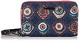 Desigual Wallet Vostok Mini Zip, Billetera para Mujer, Pantalon De Mezclilla (Jeans), 9x2x15 Centimeters (B x H x T)