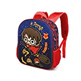 Karactermania Harry Potter Quidditch - Mochila 3D (Pequeña), Multicolor