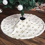 ShiyiUP Árbol de Navidad Falda de Decoración para Fiesta de Feliz Navidad