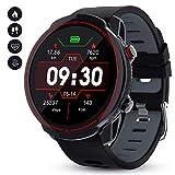 GOKOO Smartwatch Hombres Mujeres Reloj Inteligente Deportivo 9 Modos Deportivos IP67 Impermeable Compatible con Sistemas iOS y Android