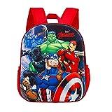 KARACTERMANIA-Los Vengadores vs Thanos-Mochila 3D (Pequeña) Kids' Luggage, Multicolor (1)