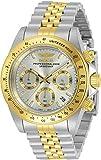 Invicta 30991 Speedway Reloj cronógrafo de dos tonos para hombre