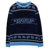 Supernatural Unete a la Caza Puente de Punto para Hombres Armada 3XL | Feo Feria suéter de Navidad Puente Isla de Navidad Ideas de Regalos para Hombre Ropa