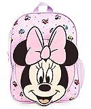 Disney Mochilas Escolares, Material Escolar para Niñas, Mochila Infantil con Minnie Mouse en Diseño 3D, Mochila Rosa de Gran Capacidad, Regalos Originales para Niñas