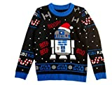 Musterbrand - Jersey de punto Star Wars R2D2 Ugly Christmas multicolor XL