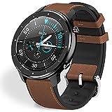 Fullmosa 【2020 Nuevo】 Reloj Inteligente, Smart Watch, FW-12 Fitness Tracker con Frecuencia Cardíaca Monitor de SoP2, IP67 a Prueba de Agua, Activity Tracker Andriod iOS para Hombres y Mujeres