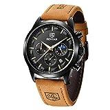 BENYAR Sport Casual Reloj de Pulsera de Cuarzo analógico Impermeable para Hombres