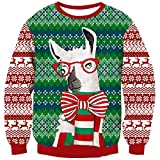 Goodstoworld Ugly Christmas Sweater Woman Men Elf Funny Unisex Xmas Jumper Jersey Navideño Feo Novedad Motivos Ropa Navidad