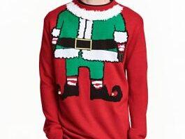 jersey navideño hombre h&m